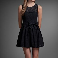 Abercrombie & Fitch Dress- it is super cute and you could wear it almost anywhere.