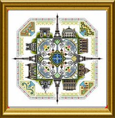 le paris mandala, from the isadarena blog