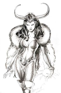 Lady Loki by Buzz