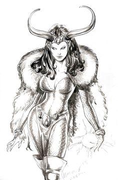 Lady Loki by Buzz