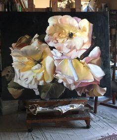 CELEBRATION 122X153 Diana Watson painting oil on linen