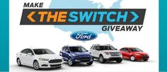Ford 2015 Make the Switch Giveaway