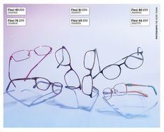 Get some flexibility in your life with these super-bendy, virtually unbreakable specs.