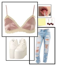 """""""Jeans 2"""" by fabulousdumpling ❤ liked on Polyvore featuring Miss Selfridge, Post-It, contest and jeans"""