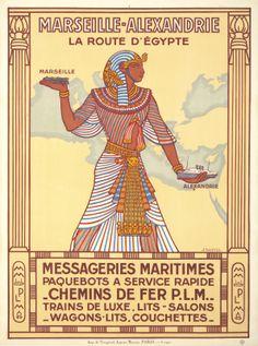 Marseille-Alexandrie La Route D'Egypte (J. Daviel. 1927)