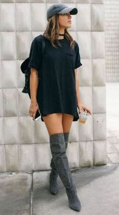 Tshirt dresses are cheap dresses that are great for all occasions!