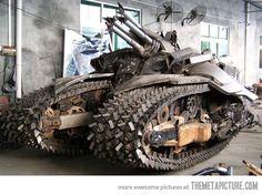 Zombie apocalypse vehicle of choice…