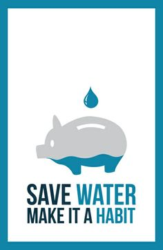 Save water - you know it makes a difference! Save Water Quotes, Save Water Slogans, Save Water Drawing, Charity Poster, Family Logo, Underwater Painting, Water Poster, Water And Sanitation, Water Logo