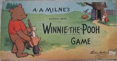vintage games | The Vintage 1933 Winnie-The-Pooh Board Game » All About Fun and Games