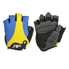 Anti-skid Ultra-breathable Sports Gel Shockproof Bike Half Finger Glove >>> Be sure to check out this awesome product.