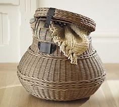 Bathroom Storage Baskets & Bathroom Storage Accessories   Pottery Barn