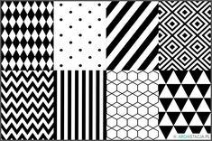 Czarno-białe grafiki do druku