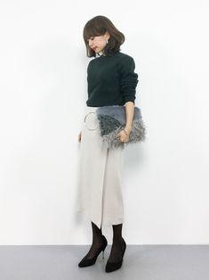 LOWRYS FARMのニット・セーター「リブハイネックプルオーバー 774779 」を使ったeriko(ZOZOTOWN)のコーディネートです。WEARはモデル・俳優・ショップスタッフなどの着こなしをチェックできるファッションコーディネートサイトです。