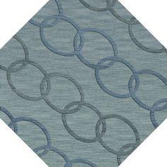 Dalyn Rug Co. Bella Blue Blue Area Rug Rug Size: Octagon 10'