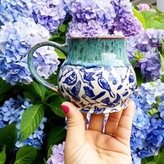"""Leigh Anne Thompson on Instagram: """"My mom loves her new mug! She let me steal it back just long enough to snap a quick photo! Now it's back to coffee on the porch! I feel…"""""""