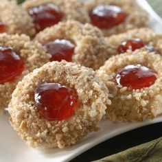 Strawberry Thumbprint Cookies are an elegant treat. Use these for desserts, snacks and parties. Make...