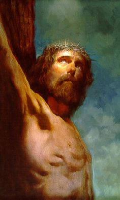 Morgan Weistling: Crucifixión. Beautiful.