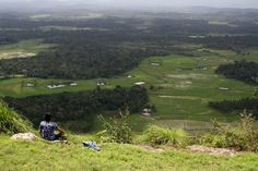 View from the top of the hill, Coorg India