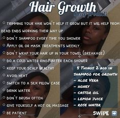 hair care # 𝗃𝖺𝗒𝗅𝖺𝖺𝗋𝗂𝖾𝗅𝗅𝖾 @ 𝗃 Natural Hair Care Black Care hair 𝔟 𝗃𝖺𝗒𝗅𝖺𝖺𝗋𝗂𝖾𝗅𝗅𝖾 Natural Hair Growth Tips, How To Grow Natural Hair, Grow Long Hair, Grow Hair, Natural Hair Styles, Long Hair Styles, Black Natural Hair Care, Natural Hair Regimen, How To Grow Your Hair Faster