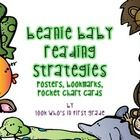 Beanie Baby Reading Strategies Packet    Using Beanie Babies as an anchor helps students remember decoding strategies. This packet includes bookmarks...