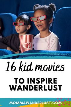 Many of us travel with our kids so we can expose them to new cities, countries, and cultures. While our families are forced to stay home – for whatever reason — we can still explore every continent on the globe from the comfort and safety of our homes. Here are 16 kid movies you can watch as a family to inspire wanderlust.