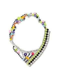 Abstract Crystal Necklace - Tom Binns $598 Gilt... Anyone have $598 I could borrow?