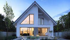 Dostępny 4A - DOMY Z WIZJĄ Perfect Money, Cabin, House Styles, Outdoor Decor, Home Decor, Design, Decoration Home, Room Decor, Cottage