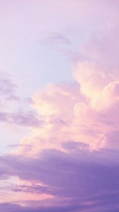 The view of sky Pink Clouds Wallpaper, Iphone Background Wallpaper, Galaxy Wallpaper, Aesthetic Pastel Wallpaper, Aesthetic Backgrounds, Aesthetic Wallpapers, Pastel Clouds, Pastel Sky, Whats Wallpaper