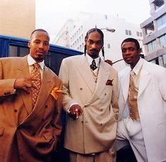 Warren G, Snoop Dogg and Keith Sweat.