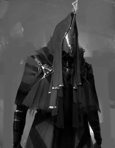ArtStation - Cloak and Metal, by Anthony Jones
