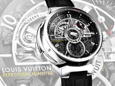 Louis Vuitton's Tambour Minute Repeater watch #LouisVuitton #watch #wristwatch #lifestyle #thailandtatler