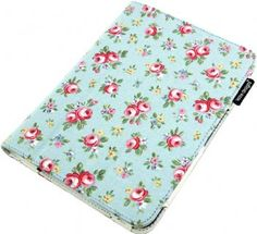 Kindle Fire HD 7 in pink roses fabric