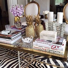 interior design - living room coffee table