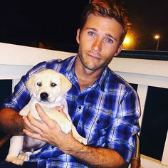 SCOTT EASTWOOD AND NEW PUPPY BROKE THE INTERNET