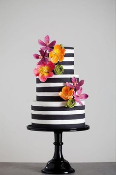 Featured Wedding Cake: Wild Orchid Baking