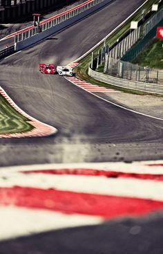 Porsche 917 @ Eau Rouge, Spa Francorchamps