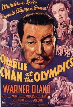 Featuring actual footage from the 1936 Berlin Olympics, 1937's Charlie Chan at the Olympics features Lee Chan (Keye Luke) as an Olympic swimmer, Charlie and Charlie Jr. (Layne Tom Jr.) flying to Germany via the Hindenberg and a plot that includes everything from international espionage to kidnapping and murder.