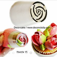 Russian Icing Piping Nozzles Cake Decoration Tips Home Baking DIY Tool Tulip Rose Nozzle Tip Rose Icing, Icing Flowers, Buttercream Flowers, Piping Buttercream, Cake Piping, Russian Decorating Tips, Cake Decorating Tips, Icing Tips, Frosting Tips