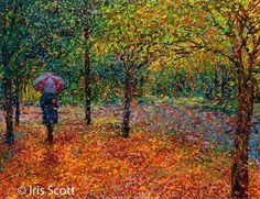 Beautiful painting by Iris Scott 3 http://webneel.com/oil-painting   Design Inspiration http://webneel.com   Follow us www.pinterest.com/webneel