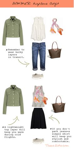 Some readers have asked me to put together outfit options for summer like I did for Fall and Spring. I'm more than happy to oblige and I apologize for the delay, this summer has been a busy one. This will still come in handy for anyone lucky enough to be traveling to the southern hemisphere …