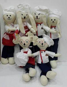 Aşcı ailesi - Bez Bebekler