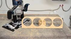 How to route small circles and arcs - CRB7 Combination Router Jig