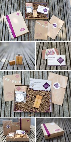 My new photography packaging for Visuels Photography #branding #photography