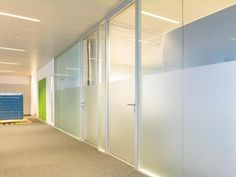 Hinged door glazed in door frame with minimalist profilesElegant and pure design, suited to numerous styles