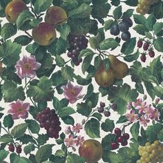 cool Sage Green Fruit Vine Wallpaper Check more at http://hasiera.co.uk/s/furnishings/product/sage-green-fruit-vine-wallpaper/