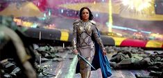 Tessa Thompson, Lady Sif, Taika Waititi, The Mighty Thor, Kat Dennings, Man Down, The Dark World, Christian Bale, Cartoon Tv