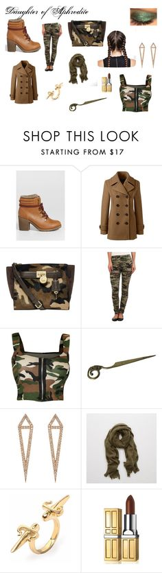 """""""Daughter of Aphrodite"""" by sparklingpearl619 on Polyvore featuring maurices, Lands' End, Michael Kors, Plush, WearAll, Eva Fehren, Aerie, LeiVanKash, Elizabeth Arden and Beauty"""
