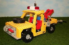 LEGO 8846   Technik Abschleppwagen von BrickshopBerlin auf Etsy