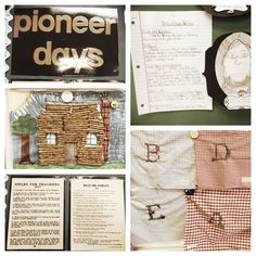 Grade Pioneer Unit - this is only a fraction of all the things we do in my classroom for our social studies unit on Pioneer History. 3rd Grade Social Studies, Social Studies Activities, Teaching Social Studies, Educational Activities, Pioneer School, Pioneer Life, Pioneer Activities, Kansas Day, Pioneer Crafts