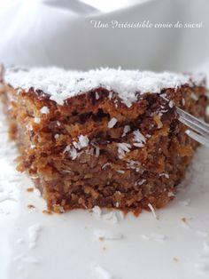 Gâteau au Chocolat & noix de coco